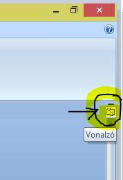 Microsoft Word vonalzó bekapcsolása Word Starterben